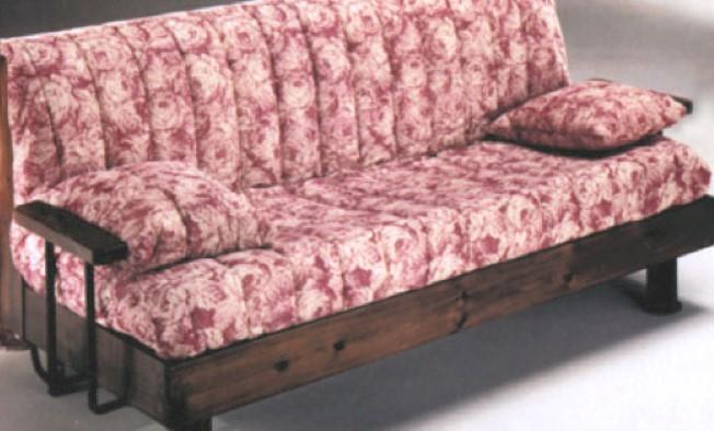 Divano rustico pronto letto for Divani rustici