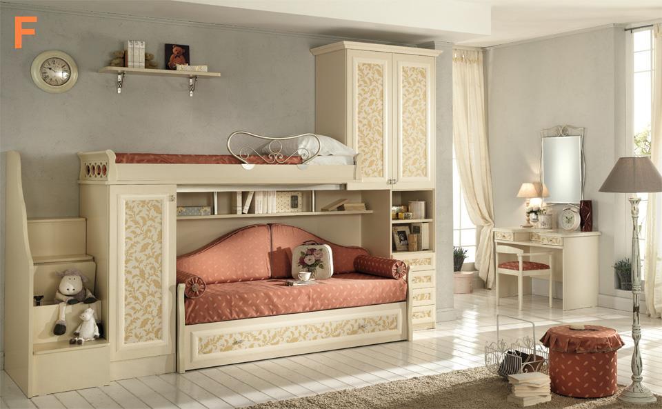 Camerette classiche - Camere da letto bianche classiche ...