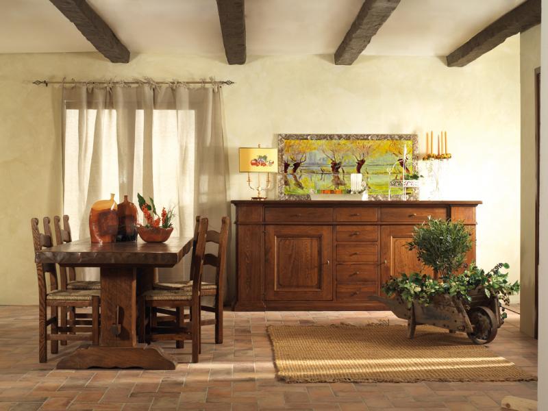 Mobili da soggiorno in legno massello ~ Mobilia la tua casa