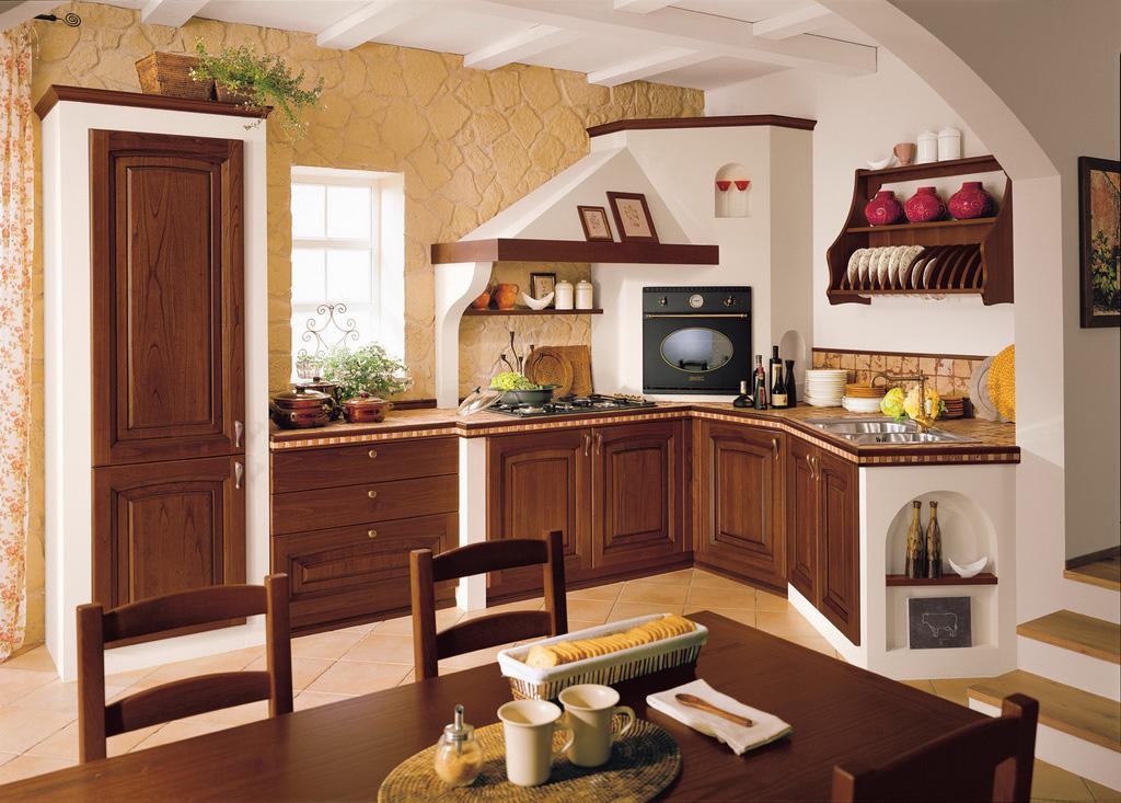 Ducale - Cucina rustica in pietra ...