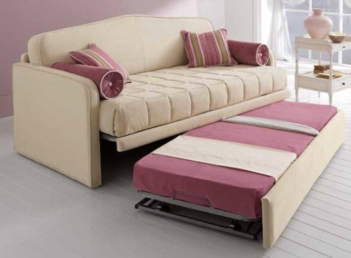 Divano con doppio letto estraibile doppio letto for Divano letto doppio