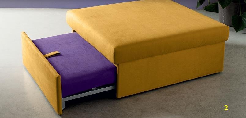 Pouf letto o panchetta scorrevole - Pouf con letto ikea ...