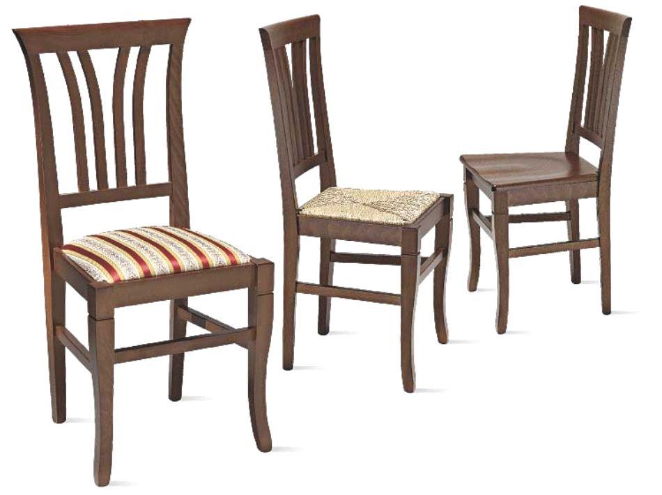 Sedie In Legno Arte Povera.Art W 143 Sedia