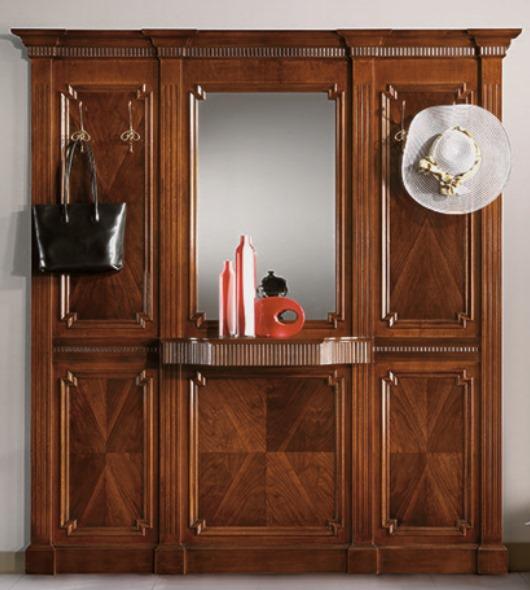 Specchiera Porta Abiti.Art 788 Ingresso A Pannelli Specchio Porta Abiti