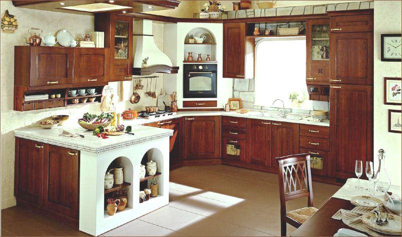 Cucina in muratura for Cucine arte povera