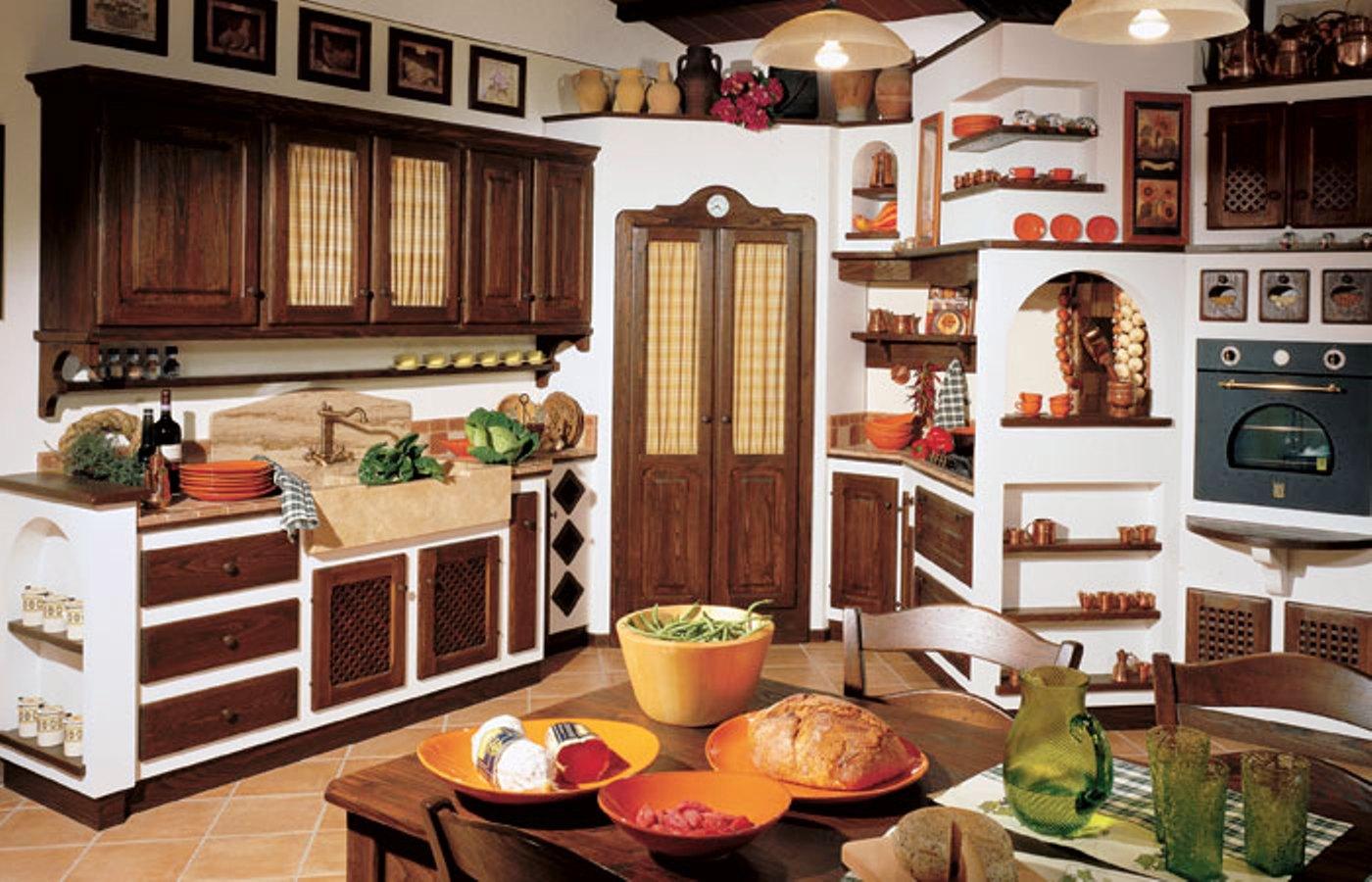 Cucina in muratura - Mobili per cucine in muratura fai da te ...