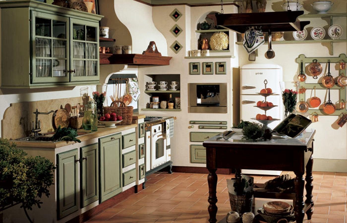 Cucina in muratura - Cucina in muratura country ...