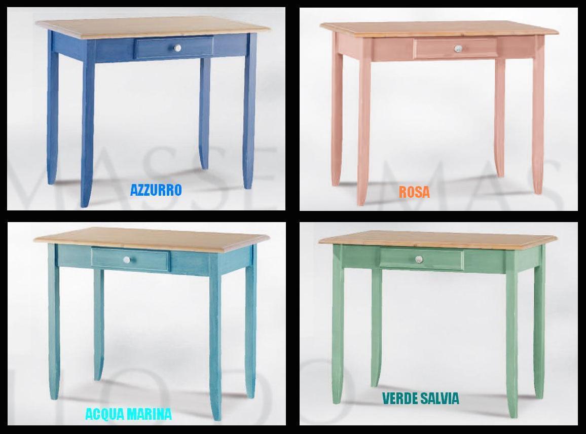 Tavoli colorati for Mobili colorati moderni