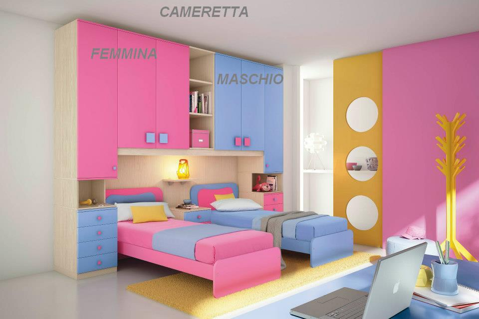 Camerette moderne for Camere da letto moderne colorate