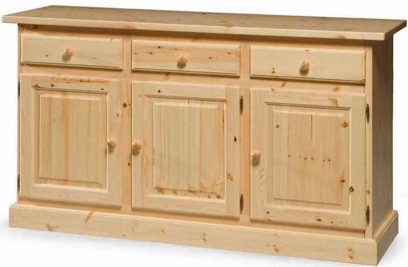 Credenza Rustica In Legno : Tavolo consolle in legno massello pino rustico vendita mobili