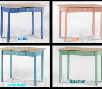 Tavoli cucina colorati - Tavoli di legno per cucina ...
