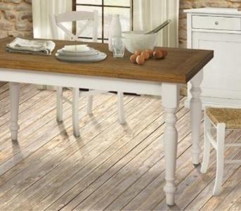 tavolo da cucina classico da 8 largo 90 cm : ART - W 617 - TAVOLO DA CUCINA RUSTICO