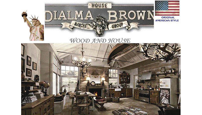 Linea Dialma Brown, mix esclusivo tra vintage e contemporaneo
